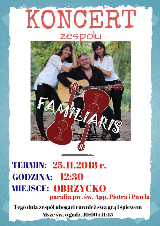 Koncert w Obrzycku