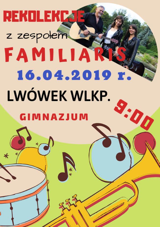 Rekolekcje Wielkopostne we Lwówku